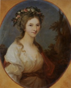 Die Herzogin Anna Dorothea von Kurland (Bild: Burg Posterstein)